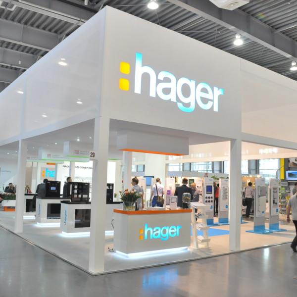 Stoisko targowe – Hager