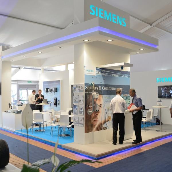 Stoisko targowe – Siemens