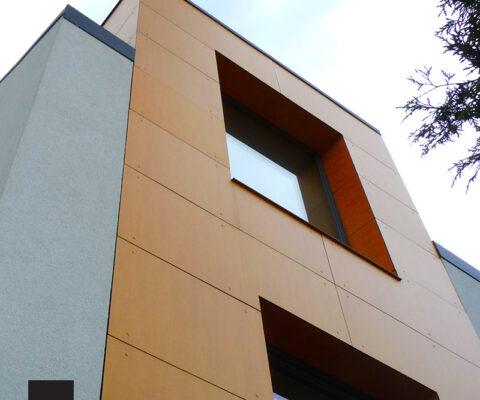 Projekt domu jednorodzinnego energooszczędnego poznań ławica SIS ARCHITEKCI 1a