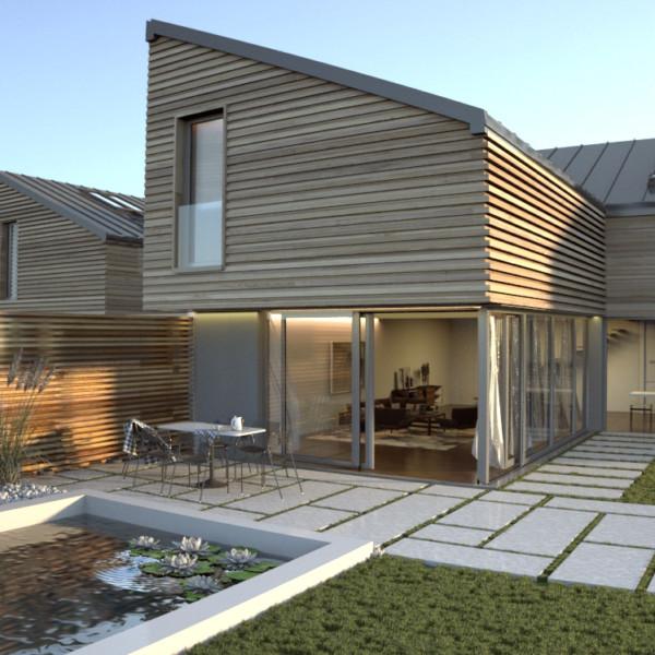 Projekt domu szeregowego