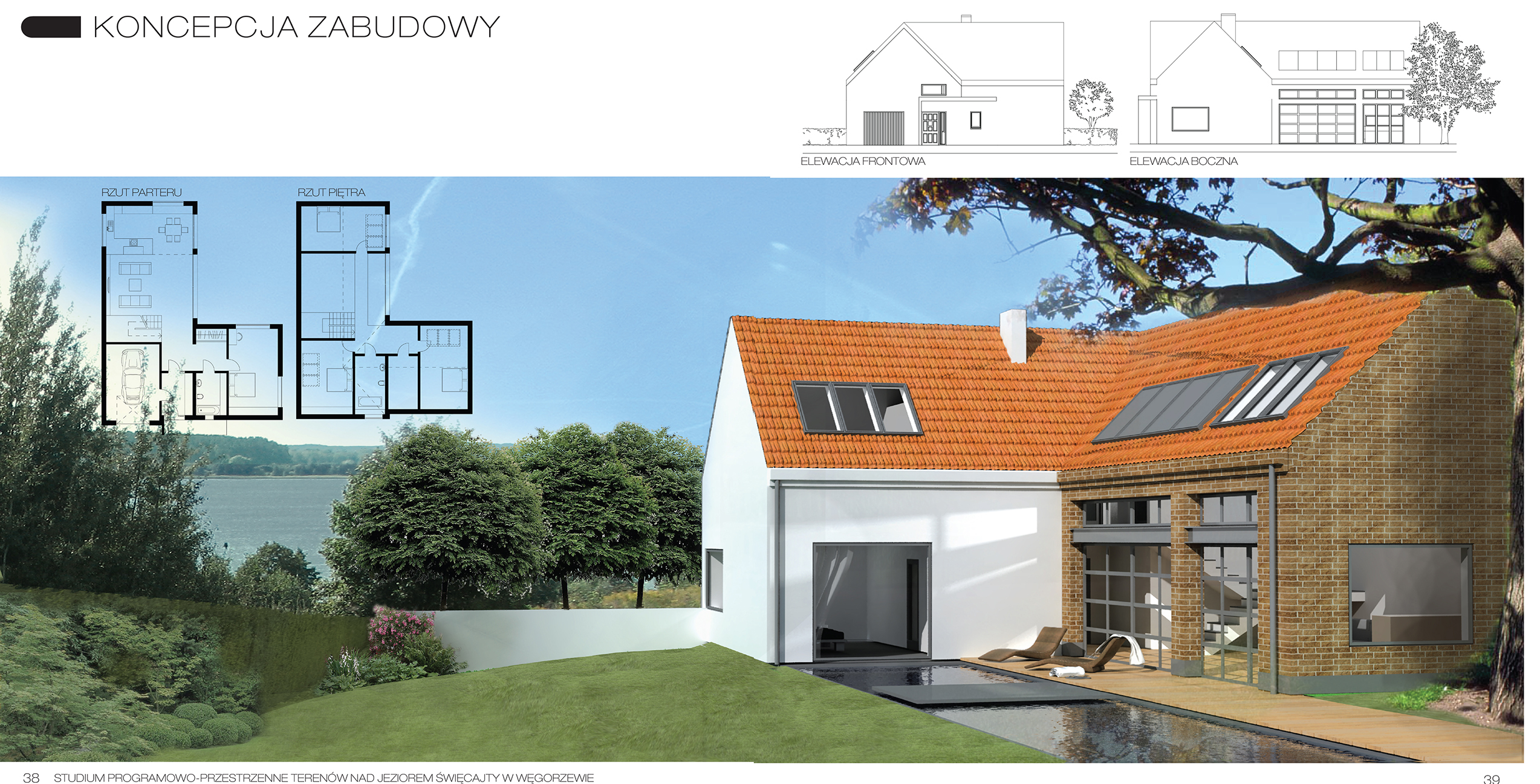WEGORZEWO sis architekci architektura urbanistyka projektowanie architekt poznań dom domy energooszczedne pasywne 2