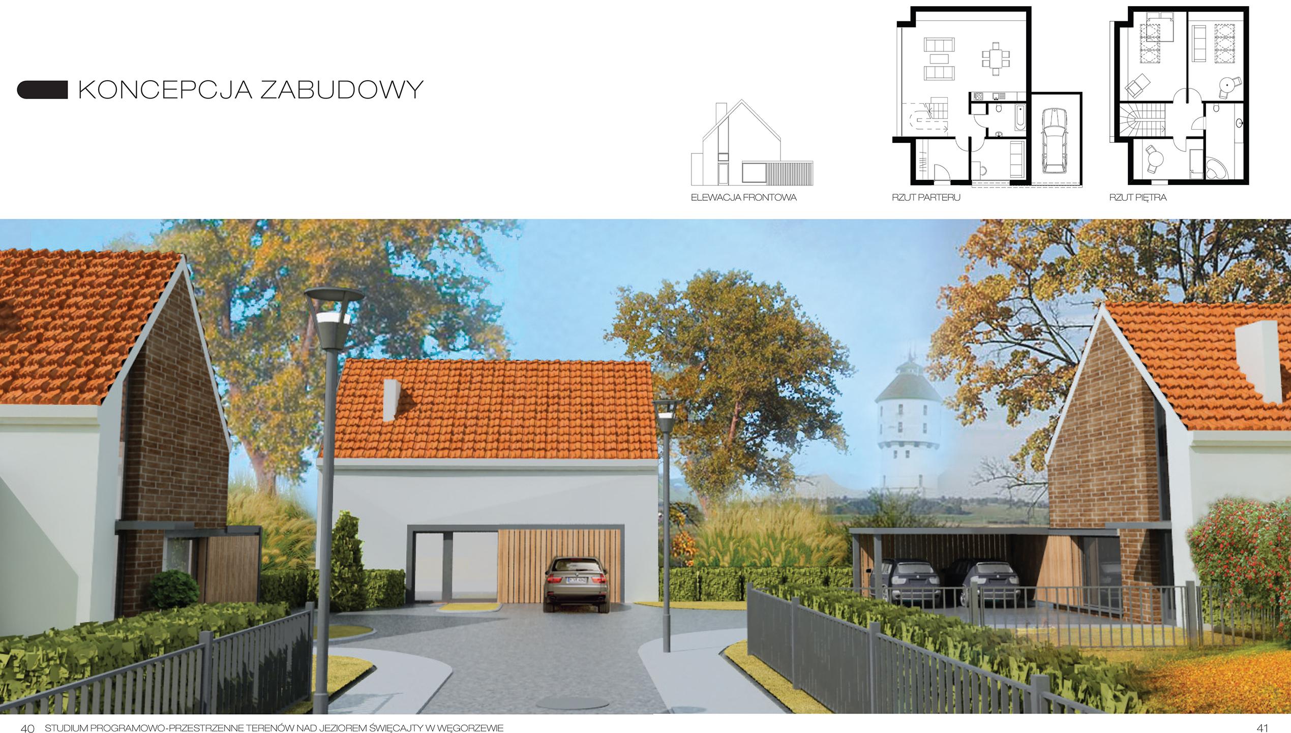 WEGORZEWO sis architekci architektura urbanistyka projektowanie architekt poznań dom domy energooszczedne pasywne 3