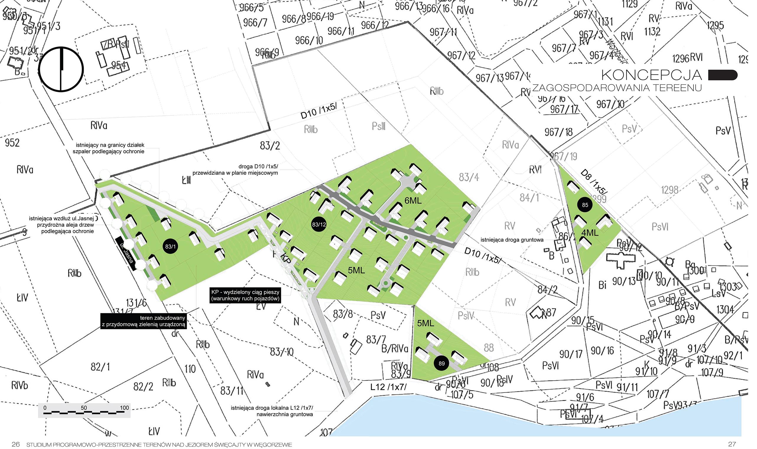 WEGORZEWO sis architekci architektura urbanistyka projektowanie architekt poznań plan