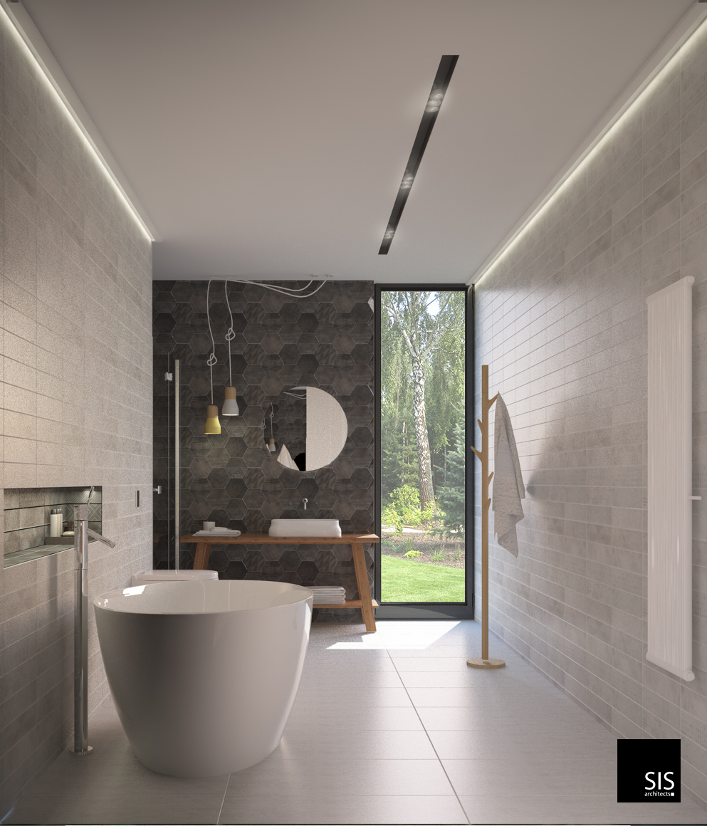 wizualizacja łazienka w domu jednorodzinnym sis archotekci32